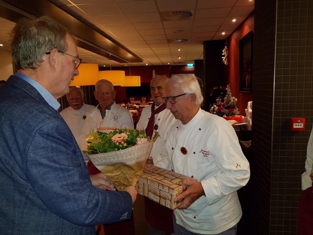 Deze Maand Was Bas Bakermans 40 Jaar Lid Van Het Cgb Culinaire Gilde Brabanconne